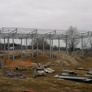 Aire lavage C.T.M.I : construction de structures métalliques et charpente métallique à Le Teich