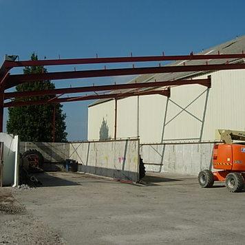 Bourrideys C.T.M.I : construction de structures métalliques et charpente métallique à Le Teich