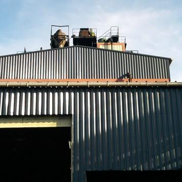ceca surtoiture pignon C.T.M.I : construction de structures métalliques et charpente métallique à Le Teich